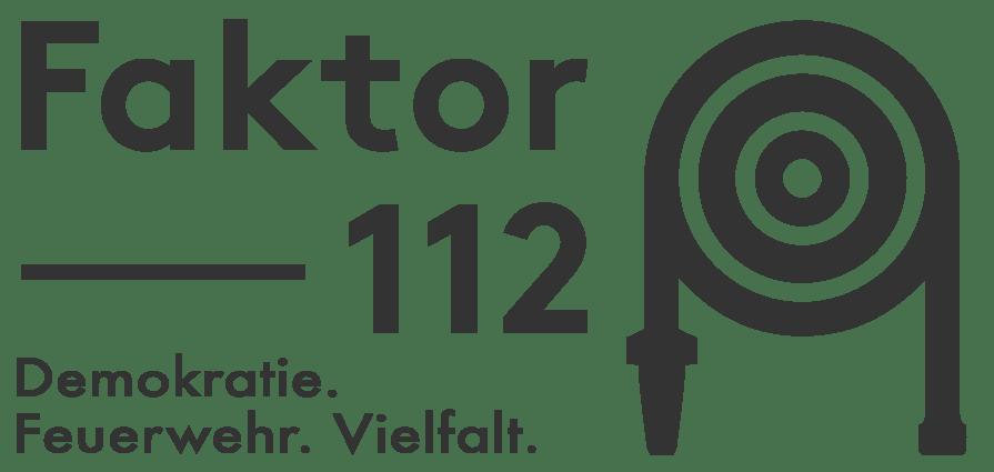 Faktor112 ist ein Projekt in der deutschen Feuerwehr und seinen Landesfeuerwehrverbänden, das sich für eine starke, demokratische Gemeinschaft in der deutschen Feuerwehr einsetzt.