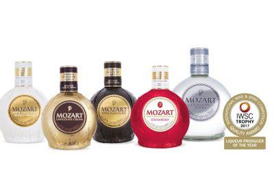 Mozart Schokoladenlikör erhält Auszeichnung als Likörhersteller des Jahres 2017.