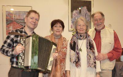 Kursana Wien-Tivoli veranstaltet Adventlesung mit Burgschauspielern in der Seniorenresidenz.
